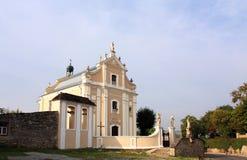 Catholic church of the seventeenth century Stock Image