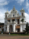 Catholic church in Siolim. North Goa, India Stock Images