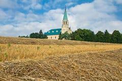 Catholic church in the Slovakia Stock Photo