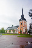 Catholic church. Small catholic church in Sweden Royalty Free Stock Photography
