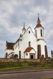 Catholic Church in Soly, Belarus. Stock Image