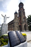 Catholic church in South Korea Royalty Free Stock Image