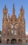 Catholic church of St Anne Stock Photo