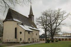 Catholic church St. Georg und Katharina in Traunstein, Germany Royalty Free Stock Photos