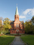 Catholic church of St. Louis, german ( Sankt Ludwig Kirche Berlin) Stock Photo