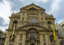 Catholic church St. Martin Bamberg Royalty Free Stock Photography