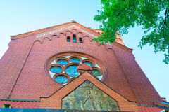 Catholic church of St. Simeon and Helena in Minsk, Belarus Royalty Free Stock Photos