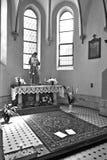Catholic Church of St. Stanislaus XVIII century Stock Images