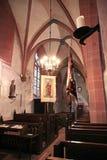 Catholic church of St. Valentinus (Kiedrich) Royalty Free Stock Photo