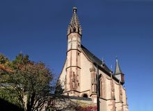 Catholic church of St. Valentinus in Kiedrich Royalty Free Stock Image