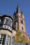 Catholic church of St. Valentinus in Kiedrich Royalty Free Stock Photos