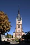 Catholic church of St. Valentinus in Kiedrich Stock Images