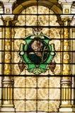 Catholic Church Stained Windows Stock Images
