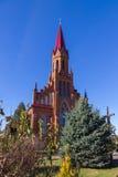 Catholic Church in Stolovichi (Stolowiczy), Belarus. Royalty Free Stock Photo