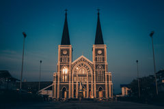 Catholic Church in Thailand. In Chanthaburi Stock Images