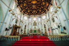 Catholic Church in Thailand. Catholic Church at Samut Songkharm, Thailand Stock Images