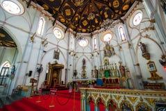 Catholic Church in Thailand. Catholic Church at Samut Songkharm, Thailand Stock Image