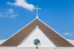 Catholic church in thailand Royalty Free Stock Photo