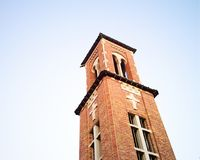 Catholic Church Tower. A church tower in South Louisiana Stock Photography