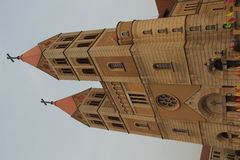 Catholic Church Tower Royalty Free Stock Photos