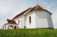 Catholic church in Transylvania, Romania Royalty Free Stock Photography