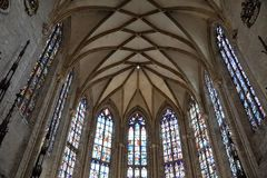 Catholic church in ulm. In south germany close to bavaria royalty free stock photos