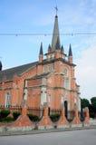 Catholic Church under Blue Sky Royalty Free Stock Image