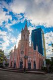 Catholic church.Vietnam.Da Nang Stock Images
