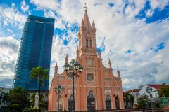 Catholic church.Vietnam.Da Nang Stock Photography