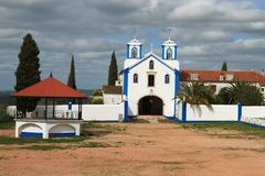 Catholic church in Vila Vicosa, Portugal Stock Photo
