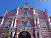 Church in Villa Escudero royalty free stock photography