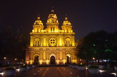Catholic church in wangfujing Beijing,China Stock Photo