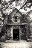 The Catholic church in Weizhou Island Stock Photos