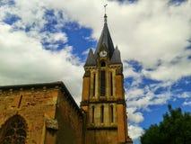 Catholic Church. Wonderful old church in france Stock Photography