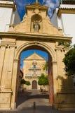 Catholic symbols in Cordoba Stock Photo
