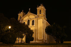 Catholic church by night Stock Photos