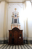 Catholic confessional Royalty Free Stock Image