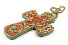 Catholic Cross. Isolated Catholic Cross Royalty Free Stock Photo