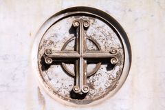 Catholic cross Royalty Free Stock Photo