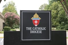 Catholic Diocese royalty free stock photos