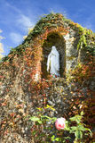 Catholic Grotto Detail Royalty Free Stock Photos