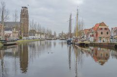 Catholic H. Laurentius Church At Weesp The Netherlands.  Stock Photos