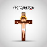 Catholic icon design Stock Photography