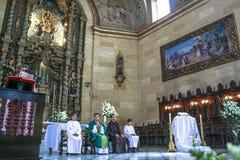 Catholic Mass royalty free stock photo