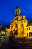 Catholic medieval church in Brasov, Romania Royalty Free Stock Images