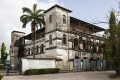 The Catholic mission building. The Catholic mission building - Bagamoyo - Tanzania Royalty Free Stock Photos