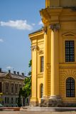 Catholic Monastery. In Debrecen Hungary Stock Photography