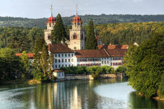 Catholic Monastery, Rheinau, Switzerland (HDR) Stock Photography