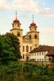 Catholic Monastery, Rheinau, Switzerland Stock Photo