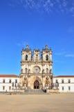 The Catholic monastery. Superbly preserved Catholic monastery. Portugal, Alkobasa Royalty Free Stock Image